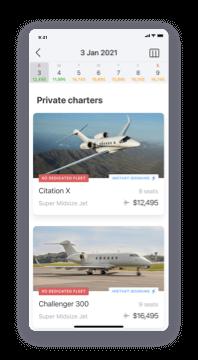 XO mobile app